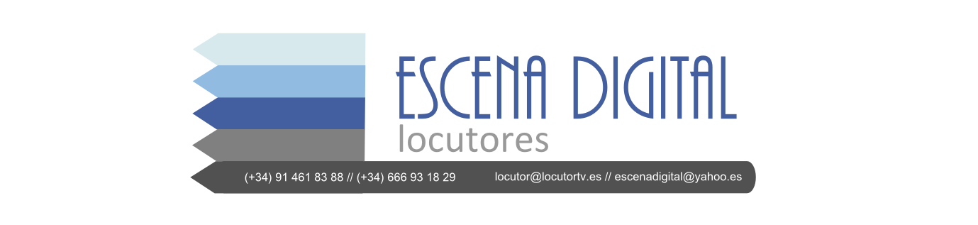 locutores, voice over