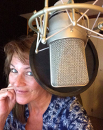 North American voice over. American voice over. North American female voice over