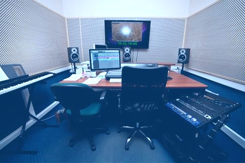 recording studio in France,  Sound recording studio France