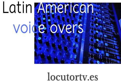latin american voice over